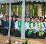 Uroczystość Pomnik Pomordowanych Tuchola Rudzki Most 2.09.2018 fot. Andrzej Drelich-82