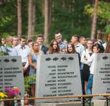 Uroczystość Pomnik Pomordowanych Tuchola Rudzki Most 2.09.2018 fot. Andrzej Drelich-9