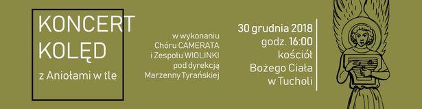 Koncert kolęd Camerata Wiolinki kościół Bożego Ciała Tuchola 30.12.2018