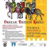 Orszak Trzech Króli Tuchola plakat