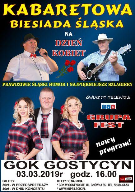 Kabaretowa biesiada śląska GOK Gostycyn