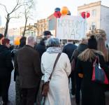 Wiec poparcia dla strajkujących nauczycieli Tuchola 15.04.2019-11