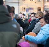 Wiec poparcia dla strajkujących nauczycieli Tuchola 15.04.2019-12