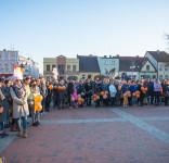 Wiec poparcia dla strajkujących nauczycieli Tuchola 15.04.2019-4