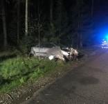 Wypadek Rudzki Most – Cekcynek 14.05.2019 fot. OSP Cekcyn 1