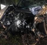 Wypadek Rudzki Most – Cekcynek 14.05.2019 fot. OSP Cekcyn 3