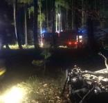 Wypadek Rudzki Most – Cekcynek 14.05.2019 fot. OSP Cekcyn 5