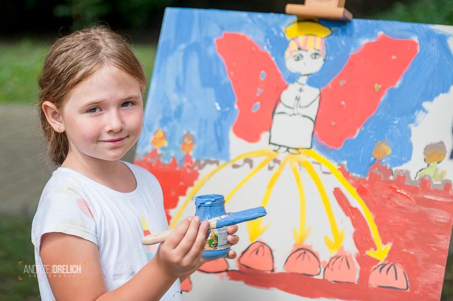 'Z farbą i pędzlem podróż do przeszłości' BTK Tuchola 27.07.2019-14