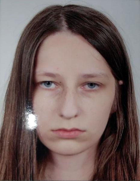 Zaginona 13-latka KPP Tuchola 8.08.2019