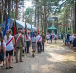 80. rocznica wybuchu II WŚ przy Pomniku Pomordowanych w Rudzkim Moście 1.09.2019-1