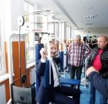 Nowa siłownia OSiR Tuchola 10.2019 fot. S. Świetlik 2
