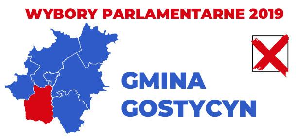 wybory 2019 gmina Gostycyn