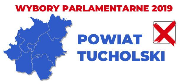 wybory 2019 powiat tucholski