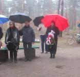 Mieszkańcy gm. Gostycyn pod pomnikiem pomordowanych w Rudzkim Moście 11.2029 13
