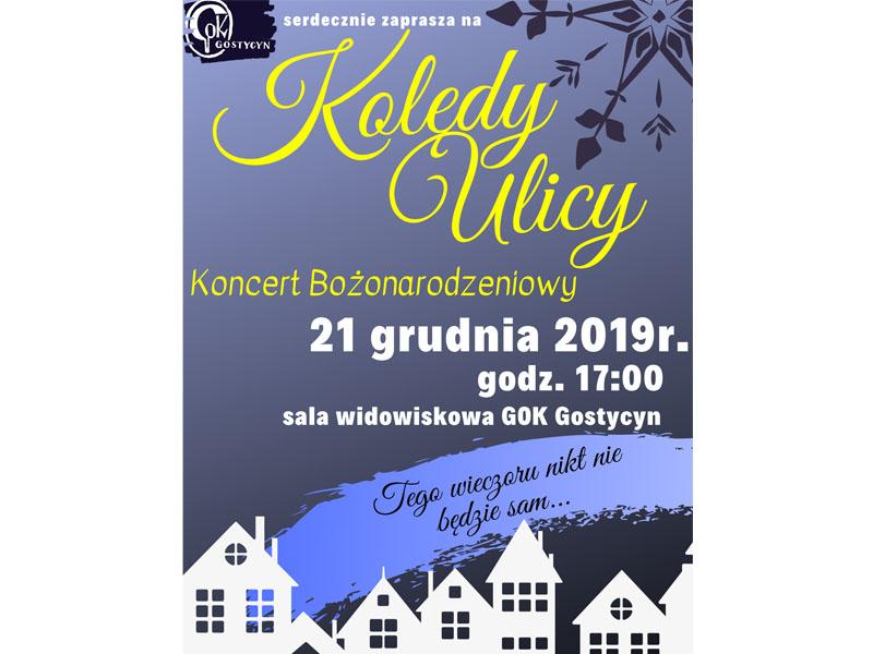 Koncert kolęd GOK Gostycyn 2019