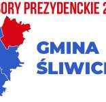 wybory PREZYDENCKIE 2020 gmina Śliwice