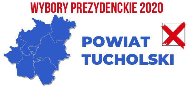 wybory PREZYDENCKIE 2020 powiat tucholski