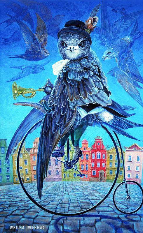 Ptaki-plakat-wrzesien Wiktoria Timofiejewa