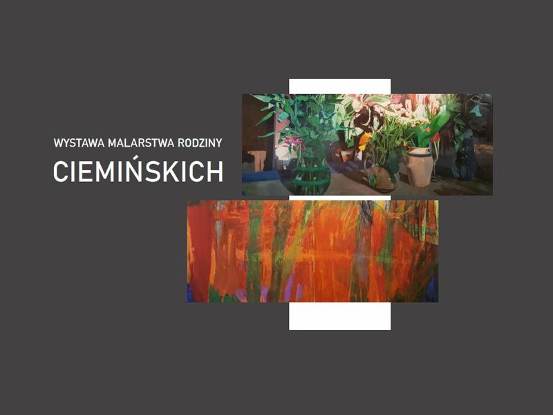 Winieta_Wystawa malarstwa rodziny Ciemińskich