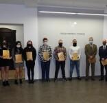 Utalentowani sportowcy uhonorowani nagrodami burmistrza Tucholi