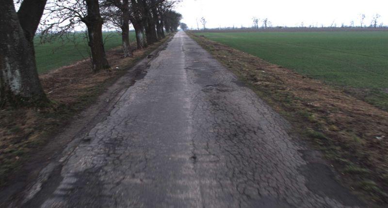 Droga powiatowa Rytel - Pastoszyn fot. Starostwo Tuchola